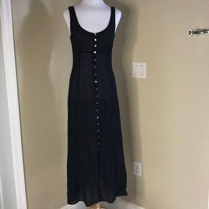 {BCBG} Black Vintage Long Dress